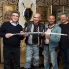 Златоустовскую оружейную фабрику посетили участники мотоклуба