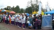 На параде первоклассников «АиР» представил профессию «Художник-гравер»