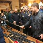 Выставка техники и оружия