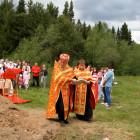 В День защиты детей состоялась торжественная закладка камня в основание храма святого Сергия Радонежского