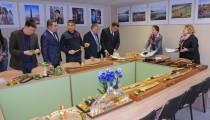 Посещение Узбекской делегации офиса Гильдии. Знакомство с продукцией Гильдии. Подписание Протокола Намерений о партнерском соглашении.